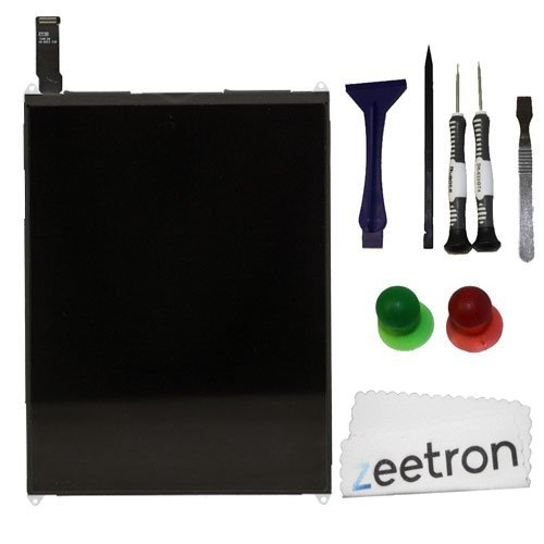 Zeetron Ipad Mini Replacement Lcd Screen Do It Yourself Kit (Includes Tools & Zeetron Microfiber Cloth)