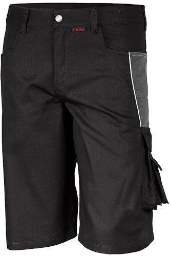Qualitex-Shorts-PRO-MG-245-mehrere-Farben-50SchwarzGrau