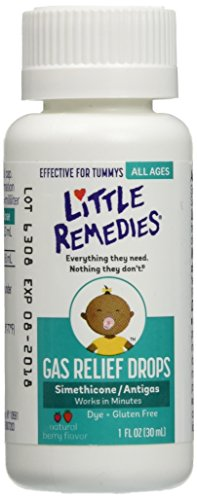Little Tummys Gas Relief Drops for Newborns, Infants & Children, Berry, 1 Ounce (Pack of 3) by Little Remedies (Little Remedies Gas Drops Infants compare prices)