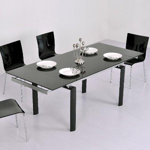 table extensible verre pas cher. Black Bedroom Furniture Sets. Home Design Ideas