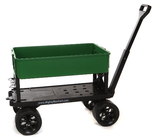 mighty-max-cart-ap600c-all-purpose-utility-and-garden-cart-with-green-tub-400-lb-capacity