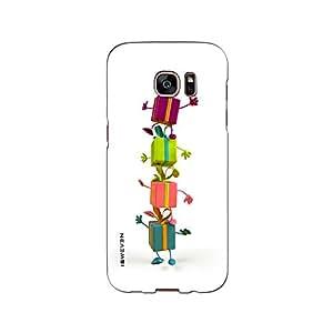 iSweven printed samS7E_3215 Four color Gift Design Multicolored Matte finish Back case cover for Samsung Galaxy S7 EDGE