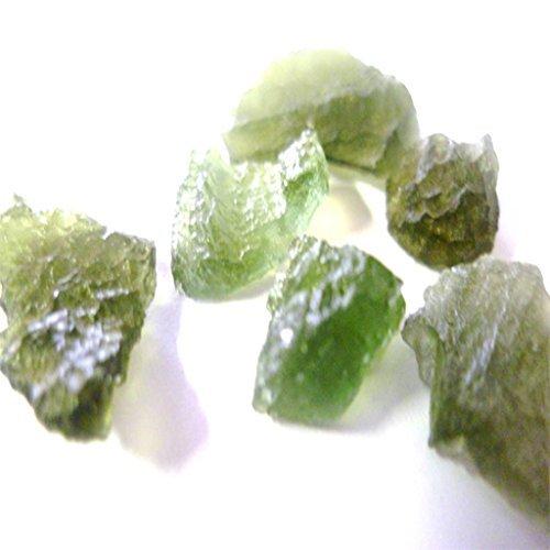 Moldavite - VERY RARE - A Grade Quality Crystal - A Tektite possibly of extraterrestrial origin - High Vibration by Crystals (High Vibration Crystals compare prices)