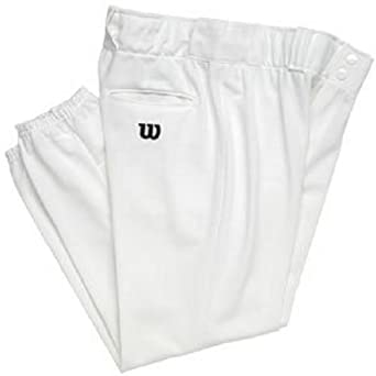 Buy Wilson Polyester Warp Knit Pants - 28 Inseam - White by Wilson