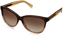 Marc by Marc Jacobs Women's MMJ411S Wayfarer Sunglasses, Brown Orange, 57 mm