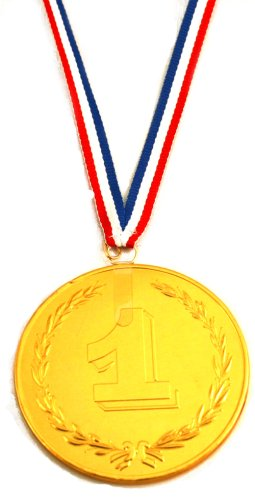 Chocolate Gold Award Medal Only $3.99