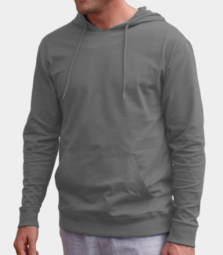 Fruit of the Loom Men's Long Sleeve Hooded Tee