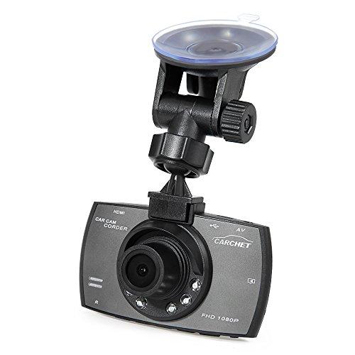 CARCHET-Unfalldatenspeicher-27-HD-Auto-KFZ-Kamera-Recorder-berwachungskamera-Dashcam-TFT-1080P-Nachtsicht