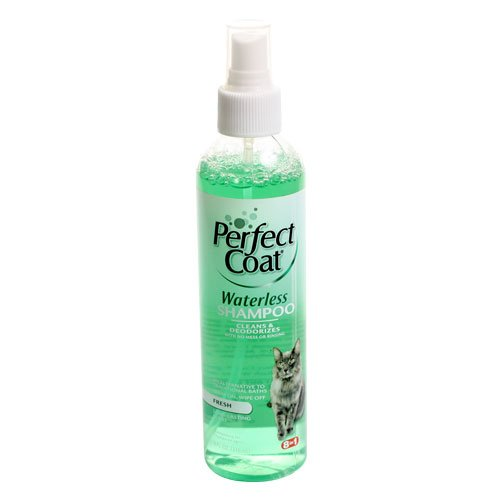 Perfect Coat Waterless Shampoo For Cats 8 Oz