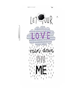EPICCASE Rain on Me Mobile Back Case Cover For Lenovo S880 (Designer Case)