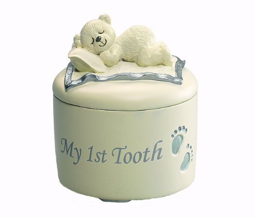 Russ Berrie The Lullaby Collection My 1st Tooth Keepsake Box (Discontinued by Manufacturer) - 1