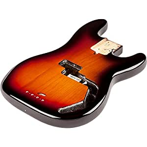 Amazon.com: Fender USA Precision Bass Body (Modern Bridge