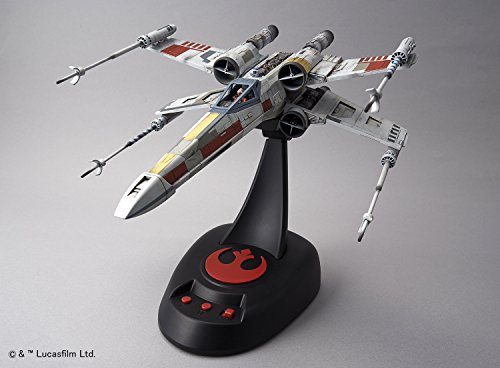 Star Wars X-wing starfighter moving edition 1/48 scale plastic model