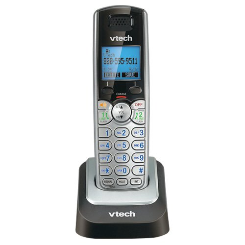 VTech DS6151 2-Line Expandable Cordless Phone with Digital Answering System and Caller ID with 3 Additional Handsets