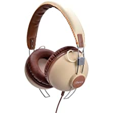 buy Idance Hipster 701 Headband Headphones - Tan & Brown