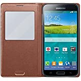 Samsung Galaxy S5 S-View Cover - Rose/Gold