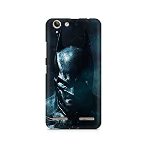 Motivatebox - Batman The Dark Knight Lenovo K5 Plus cover - Polycarbonate 3D Hard case protective back cover. Premium Quality designer Printed 3D Matte finish hard case back cover.