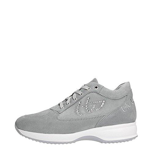 Blu Byblos 662000 Sneakers Donna Scamosciato Grigio Chiaro Grigio Chiaro 37