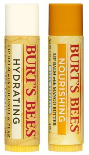 burts-bees-lip-balm-coconut-and-pear-mango-butter-blister-box-2-count-by-burts-bees-inc