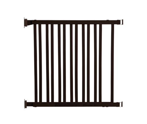 Dreambaby Dark Wood Expandable Gate, Espresso front-681271