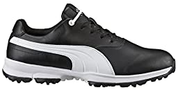 PUMA Golf Men\'s Golf Ace Black/White Sneaker 7 D (M)