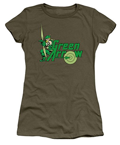 DC Green Arrow Aim Ladies Junior Fit T-Shirt