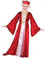 Medieval Princess Guinevere Girls Fancy Dress Costume