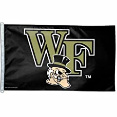 Buy NCAA Wake Forest Demon Deacons 3-by-5 foot Flag by WinCraft