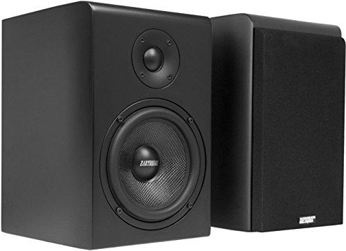 earthquake-sound-rbs-52-2-way-bass-reflex-bookshelf-home-speakers-set-of-2-matte-black