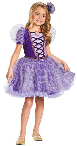 Disguise Disney's Tangled Rapunzel Tutu Prestige Girls Costume