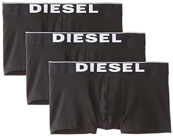 Diesel Kory3Pk - Boxer pack 2 pour homme, noir, taille M