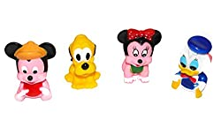 ToyTree 4 pc Duck and Minnie Chu Chu Toys