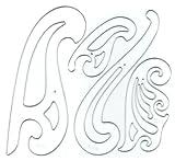 C-Thru French Plastic Curve Set