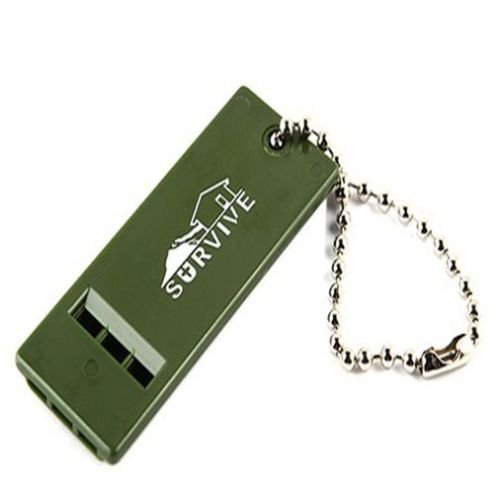 Emergency Survival Whistle Rescue Tool Signal Sound for Outdoor Camping Hiking