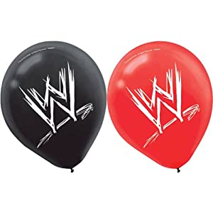 WWE Latex Balloons Party Accessory from Amscan