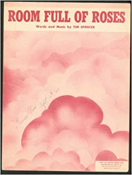 JIM REEVES - ROOM FULL OF ROSES LYRICS