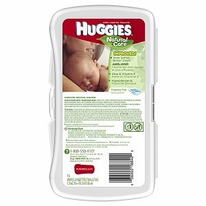 Huggies Baby Wipes, Unscented, Travel Pack, 16 Wipes/Pk, Case Of 12 Packs