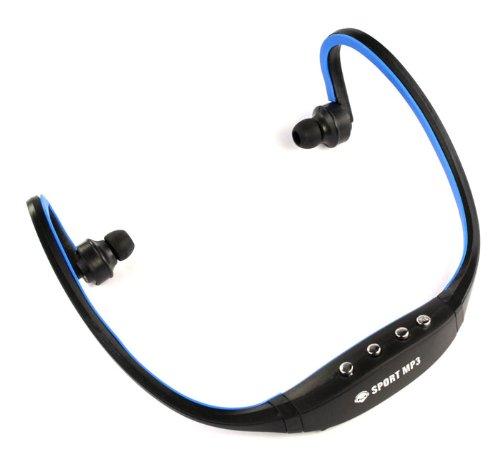 Sannysis2008 Sport Black/Blue Wireless Headphones Music Mp3 Player Tf Card Fm Radio Headset