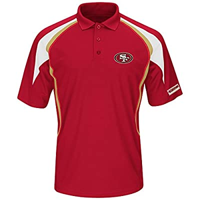NFL San Francisco 49ers Short Sleeve Synthetic Polo Shirt