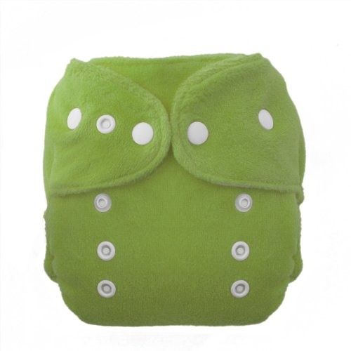 Thirsties Duo Fab Fitted Snap Cloth Diapers, Meadow, Size One (6-18 Lbs) front-272789