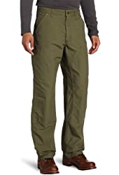 Carhartt Men's Double Front Canvas Work Dungaree