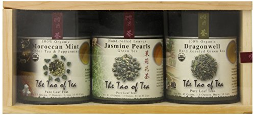 The Tao Of Tea Green Tea Sampler, 3-Count Can