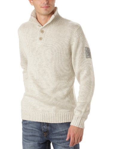 Quiksilver Capped-KPMPU063 Men's Jumper Silver X-Large