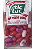 """Tic Tac Happy Valentine's Day """"Be Mine Mix"""" Conversation Wild Cherry and Strawberry Tic Tacs, 1oz"""
