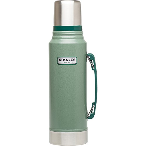 Stanley Classic Vacuum Bottle 1.1QT Hammertone Green (Thermos Bottle Stanley compare prices)