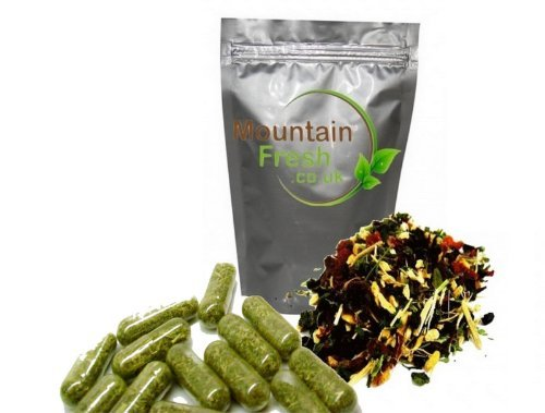 Stinging Nettle Capsules Urtica Dioica 100 X 100Mg Capsules