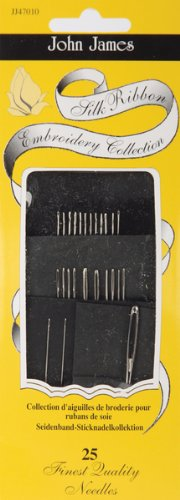 John James Silk Ribbon Embroidery Needles