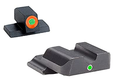 Ultimate Arms Gear SW-501 Smith & Wesson i-Dot Night Sights M&P (not Pro, not 22) Tritium Outline FRONT, Single Dot REAR from Ultimate Arms Gear