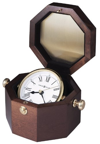 Howard Miller 645-575 Oceana Weather & Maritime Table Clock by