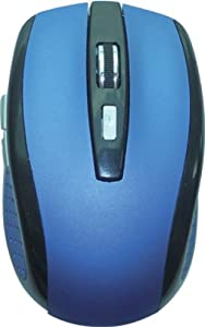 Hype 2.4GHz Wireless Optical Mouse -Blue